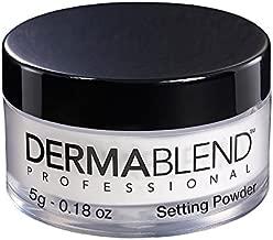 Dermablend Loose Setting Powder, Translucent Powder for Face Makeup, Travel Size .18oz.