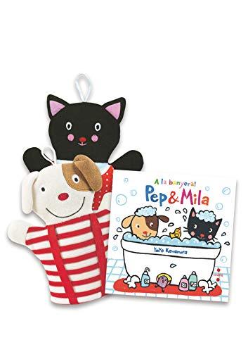 Pack Pep i Mila A la banyera!: Pack amb una manyopla de bany (Pep & Mila)