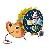 Dowoa Juguete de Arrastre, Juguete de Arrastre de Dibujos Animados Paseo de plástico Juguete de Arrastre Juguete de ABS Juguete Educativo para niños de 1 2 años