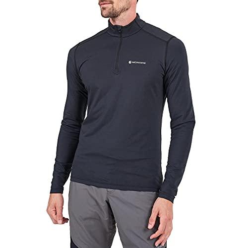 Montane Dart Thermo - Camiseta para hombre, Negro, S