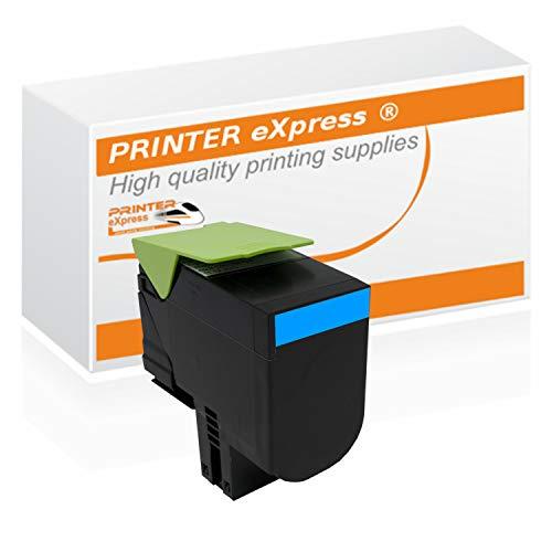 Printer-eXpress Toner ersetzt Lexmark 71B20C0 für CS317 CS317DN CS417 CS417DN CS517 CS417DE CX317 CX317DN CX417 CX417DN CX517 CX417DE Cyan