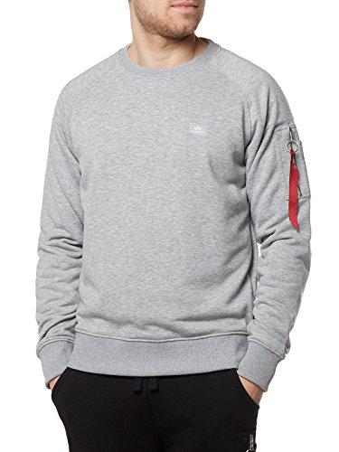 Alpha Industries X-Fit Sweat-shirt Gris L