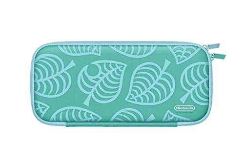 NintendoSwitchキャリングケースあつまれどうぶつの森エディション~たぬきアロハ柄~(画面保護シート付き)