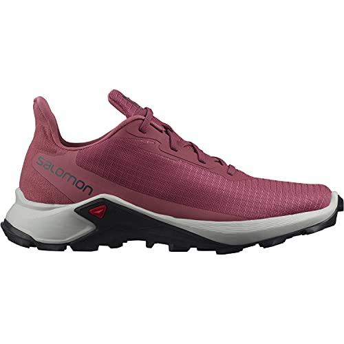 Salomon Alphacross 3 Mujer Zapatos de trail running, Rojo (Earth Red/Lunar Rock/Mauve Wood), 38 2/3 EU