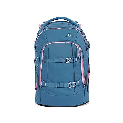 satch Pack Deep Rose, ergonomischer Schulrucksack, 30 Liter, Organisationstalent, Blau