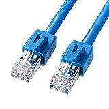 サンワサプライ CAT6LANケーブル シールド STP 爪折れ防止 30m ブルー KB-STP6-30BL