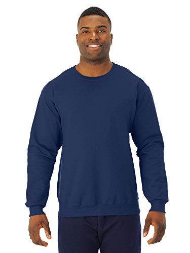 Jerzees - Crewneck Sweatshirt. 562M, 2XL, True Navy