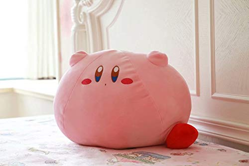 Grote Maat 43Cm Spel Kirby Speelgoed Dieren Poppen Knuffels, Roze Kirby Gevuld Zacht Pluche Kussen, Babyslaap Sussen Poppen, Kinderen Cadeau