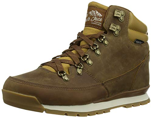 The North Face Back-to-Berkeley Redux Leather, Stivali da Escursionismo Alti Uomo, Marrone (Dijon Brown/Tagumi Brown 5wd), 45 EU
