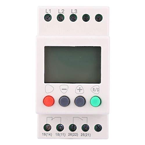 Liukouu JL-400 Überspannungs-Phasenfolge-LCD-Display-Schutz 3-Phasen-Spannungsüberwachungsrelais