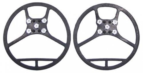 MFH Shoe Spikes à Picots 5 M, L, ou XL Noir - Noir