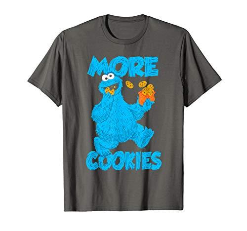 Sesame Street Cookie Monster More Cookies T-Shirt
