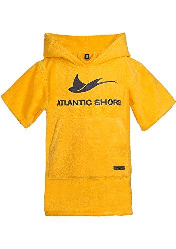 Atlantic Shore | Surf Poncho ➤ Bademantel/Umziehhilfe aus hochwertiger Baumwolle ➤ für Kids/Kinder ➤ Yellow - Baby
