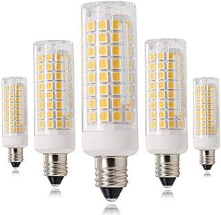 新型 E11口金 LED電球, 7.5W 電球色 110V 可調光 E11電球, 730LM 75W-80Wハロゲンランプ相当…… (5個入り)