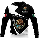 Personalized Mexico Mexican Eagle All Over Printed Pefect 3D Hoodie, Zip Hoodie, Sweatshirt, T-Shirt