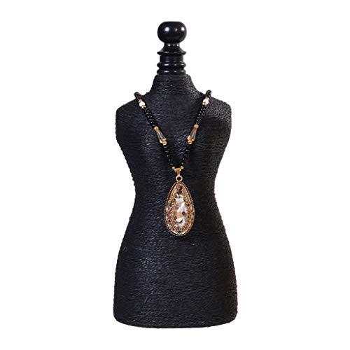 Bandeja organizadora de joyas Creativa exhibición de la joyería Puntales Display Adornos pulsera Estante colgante pendiente del anillo de almacenamiento en rack rack de joyería collar Estantería Organ