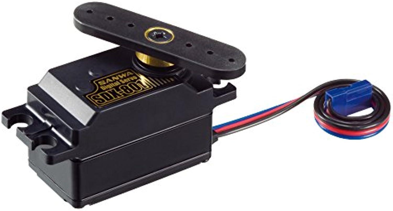 Unbekannt Sanwa 107A53471A - SDX-801 Low Profile servo, Mehrfarbig