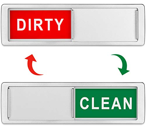 Dishwasher Magnet Clean Dirty Si...