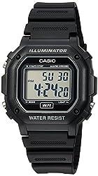 top 10 boys casio watch Casio Men's F108WH Illuminator Collection Digital Watch with Black Resin Strap