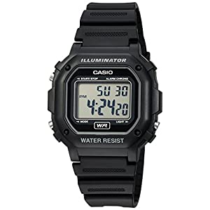 Casio watches Casio Men's F108WH Illuminator Collection Black Resin Strap Digital Watch