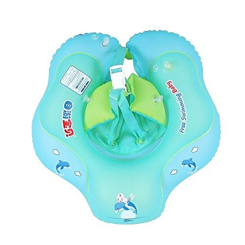 StyleBest Babyschwimmer, Babyschwimmring Säuglingsschwimmer Verstellbare Taille Aufblasbarer Ring, Babyschwimmer für 3-30 Monate Baby