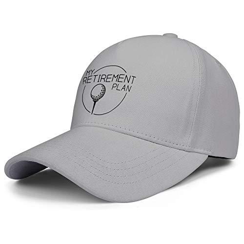 WOWorldgoods Plain Baseball Cap Curved Brim My (Golf) Retirement Plan...