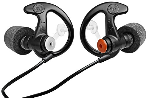 SureFire EP7 Sonic Defenders Ultra filtered Earplugs w/ Comply Canal Tips