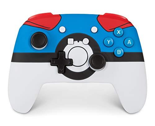 Kabelloser PowerA-Controller für Nintendo Switch – Pokémon Great Ball