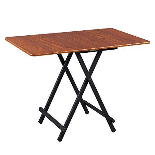 DX klaptafel Eettafel Thuis Rechthoekige Outdoor Stoel Draagbaar Zwart 100 * 60 * 75Cm