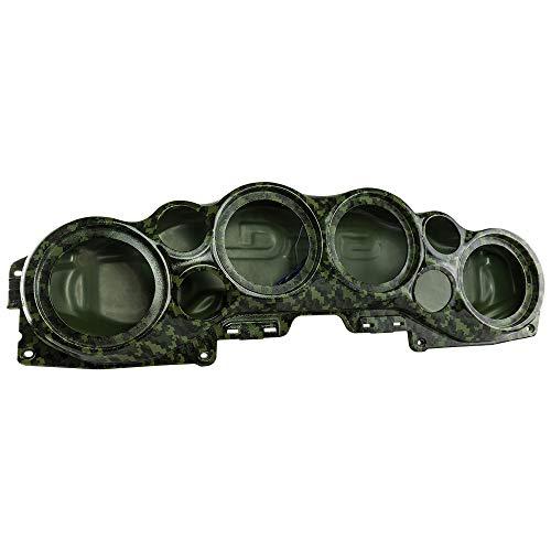 DS18 JL-SBAR Camo Green Jeeps Wrangler Overhead Soundbar for Jl 2007-2021 Will accommodate 4 X 8-Inch Speakers, 4 X 1.75-Inch Tweeters, (Camo Green)
