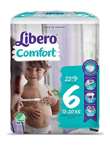 Libero Confort Windeln 6, 1er Pack (1 x 22 Stück)