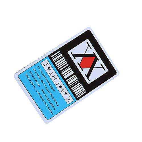 Hi Collie Kurapika Killua Hunter X Hunter Lizenzkarte Anime USB-Stick Laptop Notebook Skateboard Kreditkarte PVC Karten