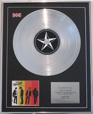 Paolo Nutini CD Platinum disc- These Streets