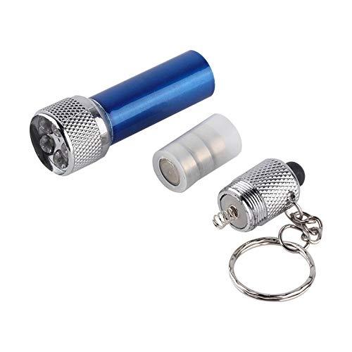 Lampe-torche portative de mini lampe-torche de LED avec la lampe-torche en aluminium de Keychain de 5pcs LEDs