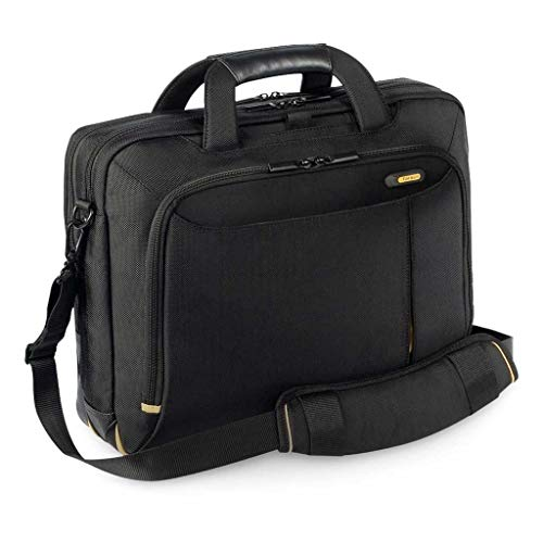 Genuine Original DELL Targus Meridian II Toploader 15.6' Notebook Laptop Case BAG , for XPS Latitude Vostro Precision Inspiron 10' 11' 12' 12.1' 13' 14' 15' , Fits up to 15.6'' (39.6 cm) laptops. Dell P/N : H2R13 , 460-11499
