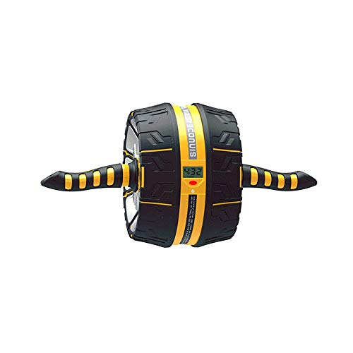 KFXL fujilun Ab Roller Wheel - mit ergonomischem Griff und Mehreren Winkeln Bauchrad mit intelligentem Display AB Roller Bauchtrainer