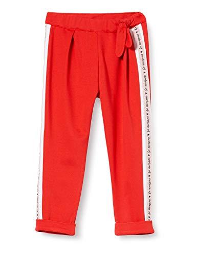 Brums Pantalone Punto Milano con Bande, Rojo (Rossol 18 757), 86 (Talla del Fabricante: 18M) para Bebés