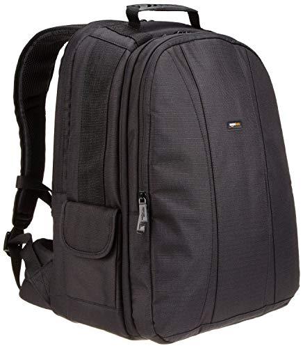Amazon Basics Rucksack für DSLR-Kamera und Laptop (oranges Interieur)