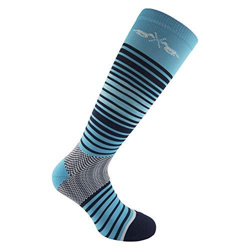 HV Polo Kniestrümpfe Reitsocken Socken Reitstrümpfe Robin, (39-42, Blau Türkis)