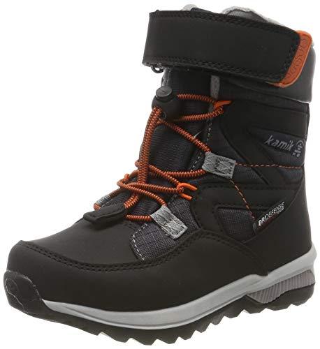 Kamik Boys Snow Boots, Black Black Blk, 11.5 UK