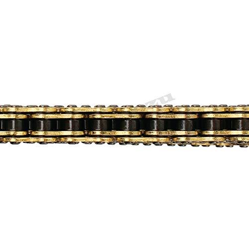 SOWBAY Universalmotorrad-Kettenöl Seal Kette DID O-Ring 520 525 530 428 Ketten 120 136 Verbindungen/Fit for ATV Quad MX Enduro Motard Racing (Color : DID428V 136LINKS)