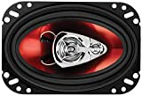 Car Speakers - 250 Watts of Power Per Pair and 125 Watts Each, 4 x 6 Inch, Full Range, 3 Way, Sold in Pairs, Easy Mounting