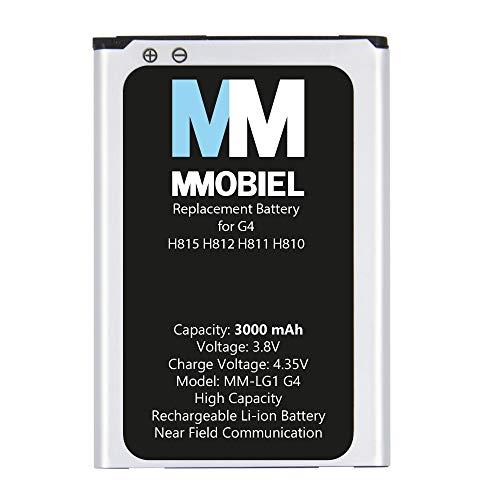 MMOBIEL Batteria di ricambio compatibile con LG G4 H815 5.5 pollici 2015 3000mAh