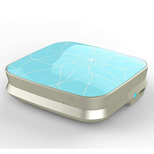 VISTANIA Ultraschallreiniger Maschine Für Kontaktlinsen-Mini Electric Persönliche Pflege Kontaktlinse Reiniger Kit, Mit In 25 Sekunden Schnell Wiederaufladbar,Blue