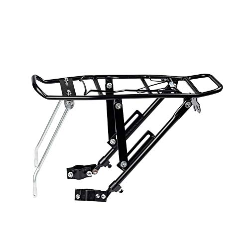 HJGHY Rack de Carga de Bicicletas Ajustable Portabicicletas Trasero Fácil de Instalar...