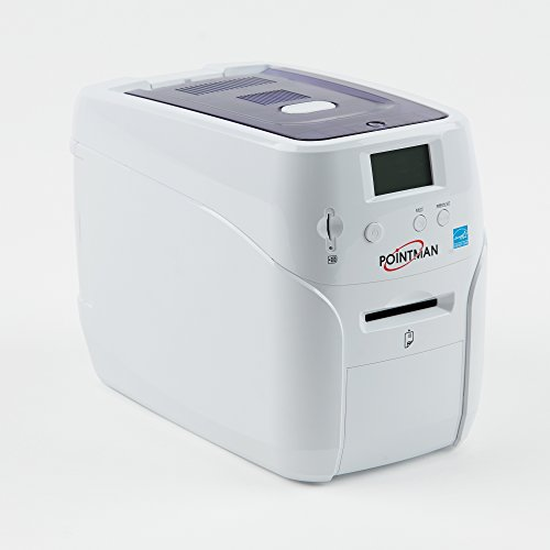 Pointman Nuvia N10 Single-Sided ID Card Printer -...