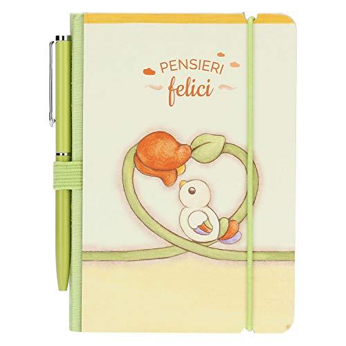 THUN - Mini quaderno per Appunti Country con Penna