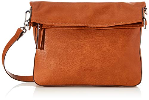 ESPRIT Accessoires Damen 990EA1O302 Umhängetasche, Rust Brown (220), 1SIZE