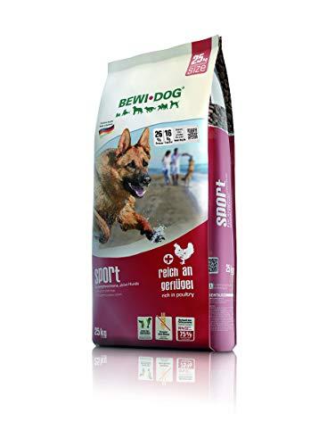 BEWI DOG Sport [25 kg] Hundefutter | Trockenfutter für sportliche & aktive Hunde | ohne Weizen & Soja | für erwachsene Hunde aller Rassen