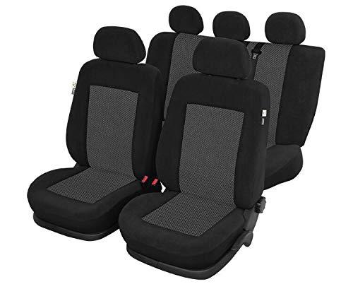 Autostoelhoezen, beschermhoezen, afdekking, meerdere kleuren, aangepast voor Nissan Micra 2010-2017 KRONOS
